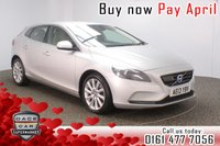USED 2013 13 VOLVO V40 2.0 D3 SE LUX NAV 5DR SAT NAV LEATHER 148 BHP FULL SERVICE HISTORY + £30 12 MONTHS ROAD TAX + HEATED LEATHER SEATS + SATELLITE NAVIGATION + BLUETOOTH + CRUISE CONTROL + CLIMATE CONTROL + MULTI FUNCTION WHEEL + XENON HEADLIGHTS + ACTIVE BENDING LIGHTS + COLLISION WARNING + CITY SAFETY + DAB RADIO + ELECTRIC WINDOWS + ELECTRIC/HEATED/FOLDING DOOR MIRRORS + 17 INCH ALLOY WHEELS