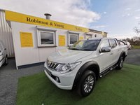 USED 2017 66 MITSUBISHI L200 2.4 DI-D 4WD WARRIOR DCB 178 BHP *WIDE ARCHES*ROLL BARS*A MUST SEE*