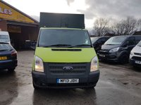 USED 2013 13 FORD TRANSIT T350 CHIPPER TIPPER TRUCK 1 OWNER  ONLY £5995 + VAT TIPPER CHIPPER TREE BODY