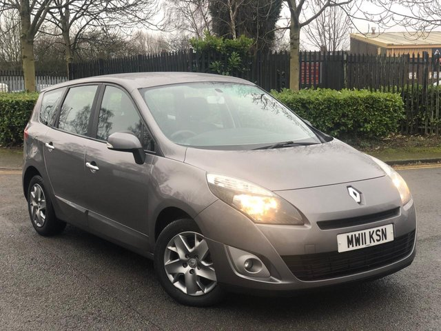2011 11 RENAULT GRAND SCENIC 1.5 EXPRESSION DCI EDC 5d 110 BHP