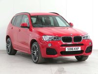 USED 2016 16 BMW X3 2.0 20d M Sport xDrive 5dr ***** £6,350 of EXTRAS *****
