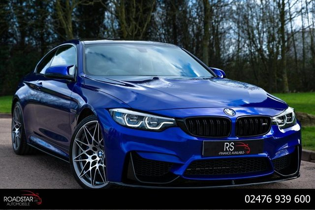 USED 2017 17 BMW M4 3.0 BiTurbo Competition DCT (s/s) 2dr