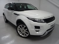 USED 2012 62 LAND ROVER RANGE ROVER EVOQUE 2.2 SD4 DYNAMIC 5d 190 BHP 4x4