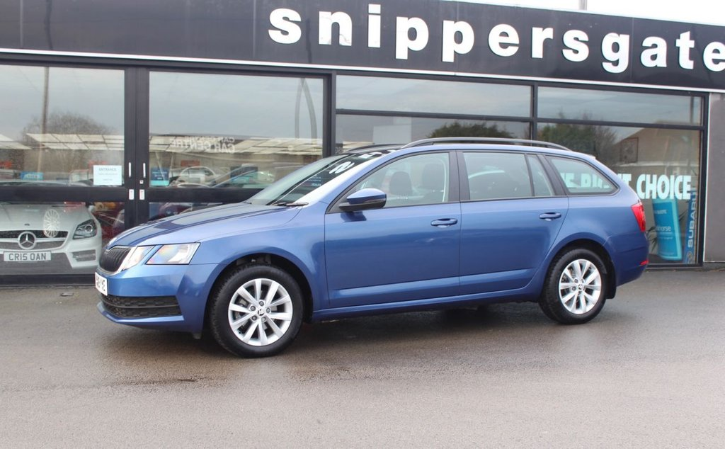 USED 2019 19 SKODA OCTAVIA 1.6 S TDI 5d 114 BHP Great opportunity to buy an almost new vehicle with a great saving, Blue Metallic, Alloy Wheels, Air Conditioning, Black Roof Rails, Bluetooth, 8 Inch Touchscreen Display, DAB Radio, Remote Central Locking, Tyre Pressure Monitoring System, Rear LED Lights, Tinted Glass, Rear LED Lights, Light And Rain Sensors.