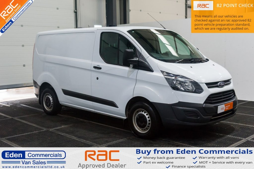 USED 2016 66 FORD TRANSIT CUSTOM 2.0 290 104 BHP EURO 6 * AIR CON * ONLY 19K!!
