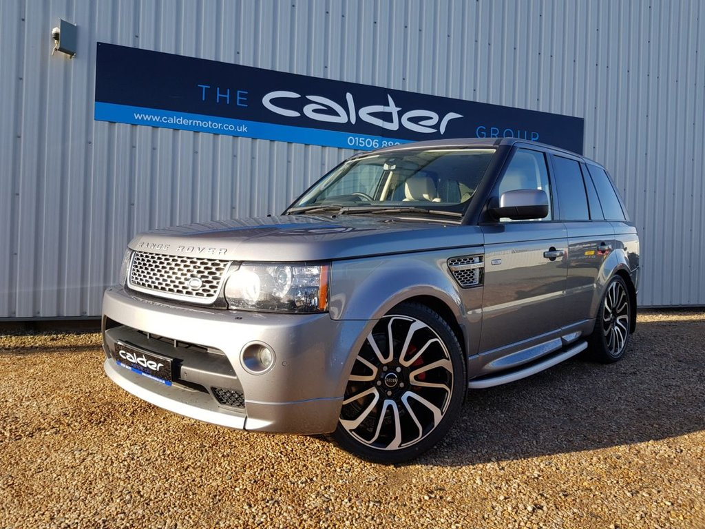 USED 2012 62 LAND ROVER RANGE ROVER SPORT 3.0 SDV6 AUTOBIOGRAPHY SPORT 5d 255 BHP