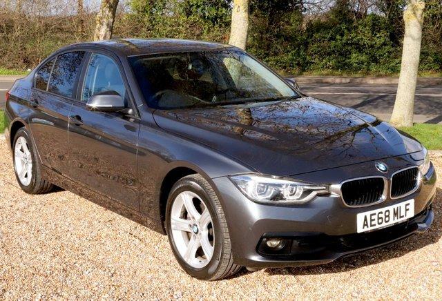 2018 68 BMW 3 SERIES 2.0 320D XDRIVE SE STEP 4d 188 BHP AUTOMATIC/ SAT NAV/ PARKING SENSORS