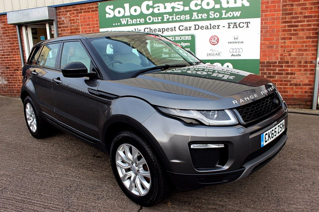 USED 2016 65 LAND ROVER RANGE ROVER EVOQUE 2.0 TD4 SE TECH 5d 177 BHP +ONE OWNER +NAV +TECH PACK.