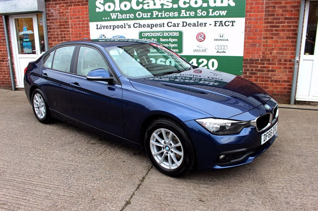 USED 2016 66 BMW 3 SERIES 2.0 320D ED PLUS 4d AUTO 161 BHP +ONE OWNER +FREE TAX +LEATHER.