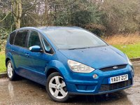 USED 2007 07 FORD S-MAX 2.0 TITANIUM 5d VALUE FOR MONEY 7 SEAT FAMILY CAR