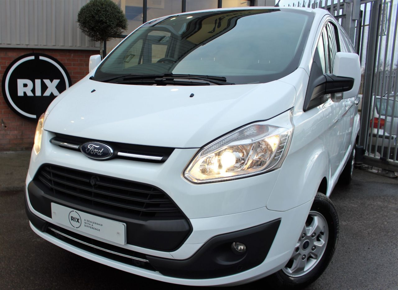 Used FORD TRANSIT CUSTOM for sale