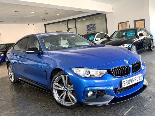 USED 2014 64 BMW 4 SERIES GRAN COUPE 3.0 430D XDRIVE M SPORT GRAN COUPE 4d 255 BHP BM PERFORMANCE STYLING+6.9%APR