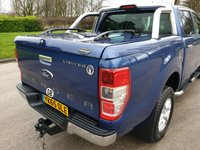 USED 2015 65 FORD RANGER 2.2 LIMITED 4X4 DCB TDCI 4d 148 BHP