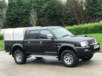 USED 2004 54 MITSUBISHI L200 2.5 TD 4WD LWB WARRIOR DCB 114 BHP