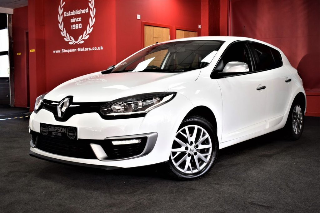 USED 2014 14 RENAULT MEGANE 1.5 KNIGHT EDITION ENERGY DCI S/S 5d 110 BHP