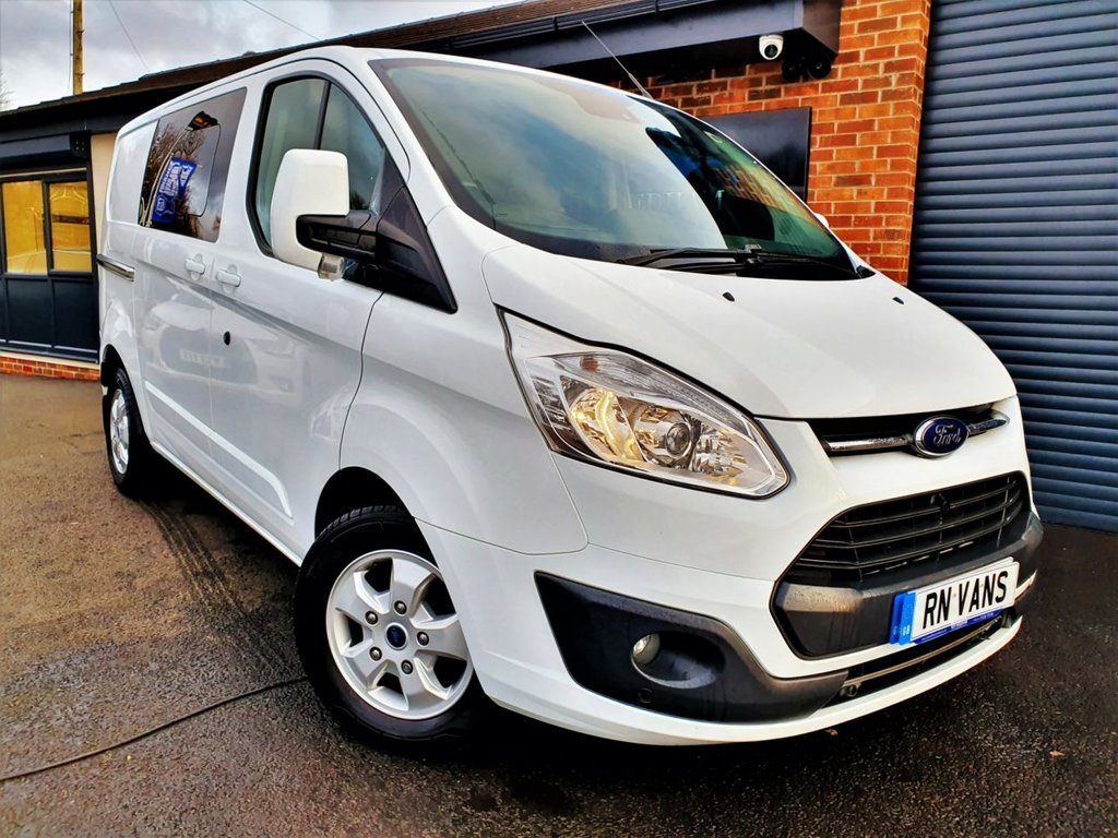 USED 2017 66 FORD TRANSIT CUSTOM 2.0 310 LIMITED DOUBLE CAB 170 BHP ** EXTREMELY RARE 170BHP LIMITED MODEL***