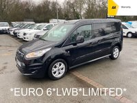 2017 FORD TRANSIT CONNECT *EURO 6* LWB 1.5 240 LIMITED 118 BHP 6 SPEED