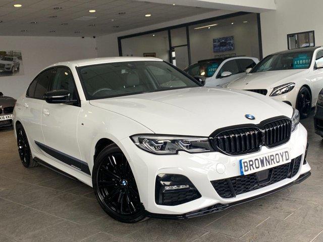 USED 2019 19 BMW 3 SERIES  320D XDRIVE M SPORT 4d 188 BHP BM PERFORMANCE STYLING+6.9%APR