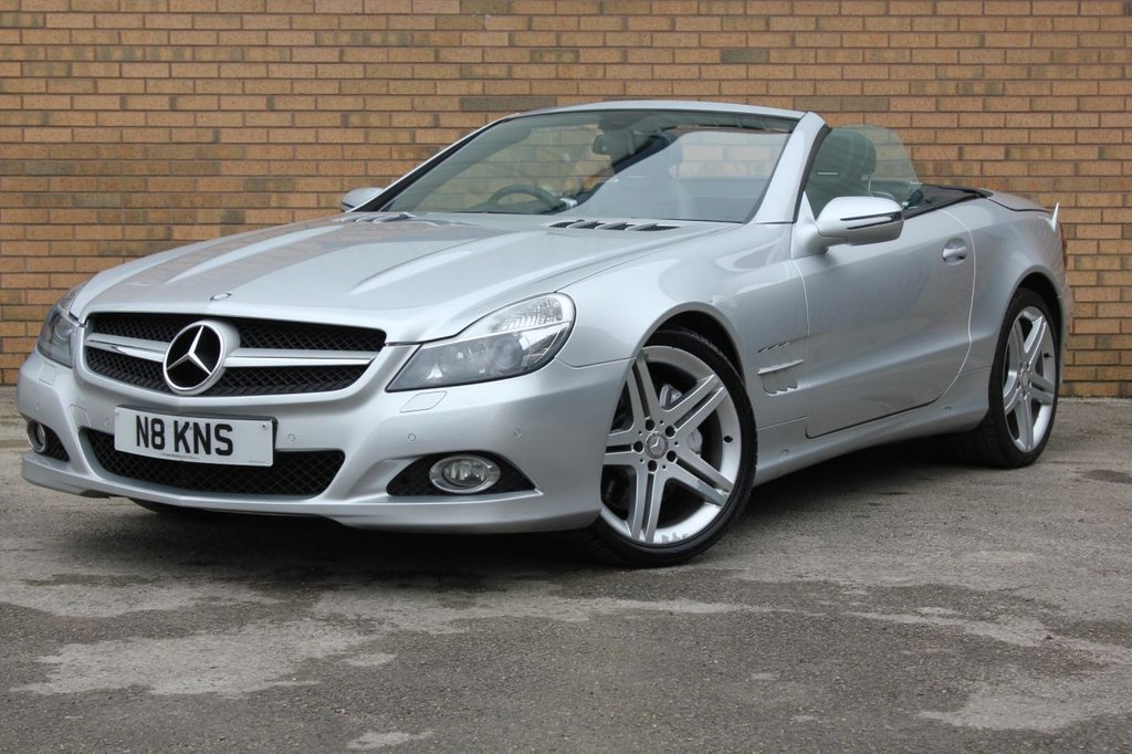 USED 2012 12 MERCEDES-BENZ SL 3.5 SL350 2d 315 BHP