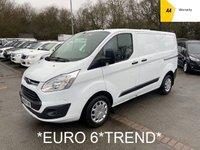 2016 FORD TRANSIT CUSTOM *EURO 6* 2.0 TDCi 270 TREND 104 BHP