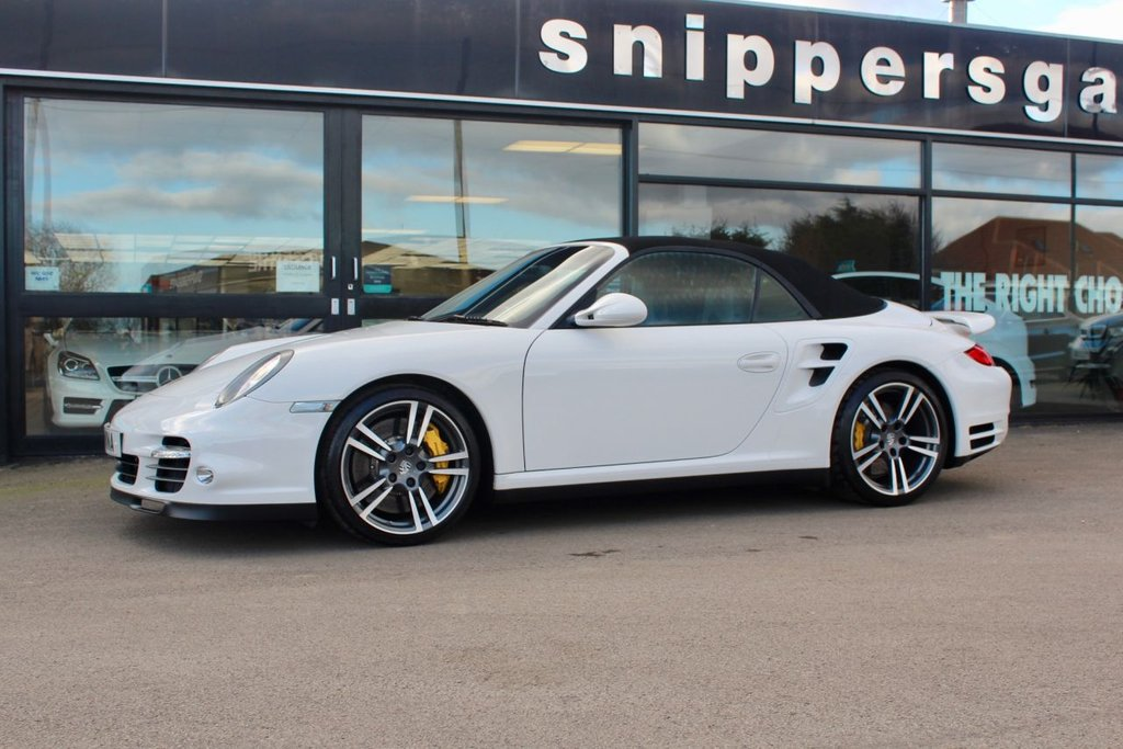 USED 2012 F PORSCHE 911 3.8 TURBO S PDK 2d 530 BHP
