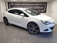 USED 2016 16 VAUXHALL ASTRA GTC 1.4 GTC LIMITED EDITION S/S 3d + SAT NAV + FULL LEATHER