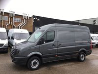 USED 2015 65 VOLKSWAGEN CRAFTER 2.0TDI CR35 MWB HIGH ROOF 136BHP. LOW 42K MILES. AC. SENSORS. PX 1 OWNER. AIRCON. LOW 42K MILES. SENSORS. FINANCE. PX