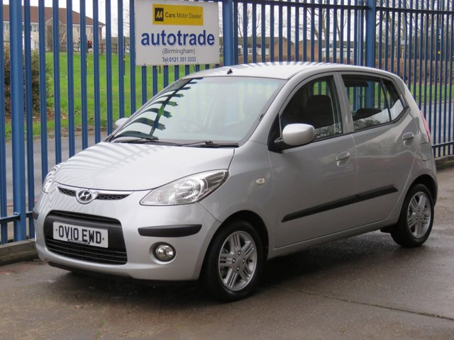 USED 2010 10 HYUNDAI I10 1.2 COMFORT 5d 77 BHP ULEZ COMPLIANT Ideal 1st Car