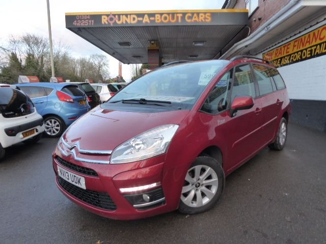 USED 2013 13 CITROEN C4 GRAND PICASSO 1.6 EDITION HDI 5d 110 BHP IDEAL FAMILY CAR.. 2 KEYS..
