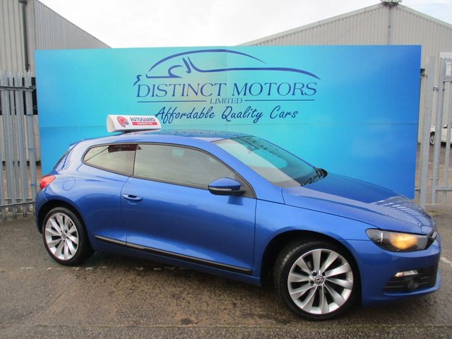 USED 2013 62 VOLKSWAGEN SCIROCCO 2.0 GT TDI BLUEMOTION TECHNOLOGY 2d 140 BHP