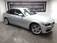 USED 2012 61 BMW 3 SERIES 2.0 320D SPORT 4d 184 BHP + FULL LEATHER + 2 KEYS