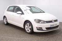 USED 2015 65 VOLKSWAGEN GOLF 1.0 MATCH TSI BLUEMOTION 5DR 114 BHP + LOW MILES + 1 OWNER SERVICE HISTORY + FREE 12 MONTHS ROAD TAX + PARKING SENSOR + BLUETOOTH + CRUISE CONTROL + MULTI FUNCTION WHEEL + AIR CONDITIONING + DAB RADIO + ELECTRIC WINDOWS + ELECTRIC/HEATED DOOR MIRRORS + 16 INCH ALLOY WHEELS