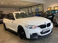 USED 2015 15 BMW 3 SERIES 3.0 335D XDRIVE M SPORT TOURING 5d 309 BHP BM PERFORMANCE STYLING+6.9%APR