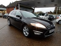 USED 2013 63 FORD MONDEO 2.0 TITANIUM X BUSINESS EDITION TDCI 5d 161 BHP ONE OWNER,TWO KEYS,LEATHER,SAT NAV,BLUETOOTH