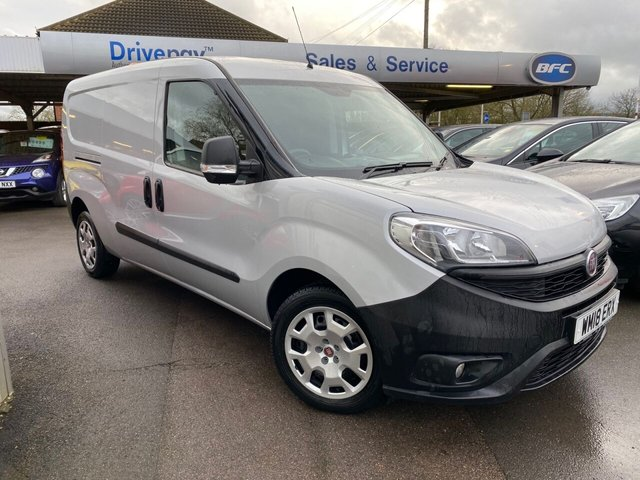 USED 2018 18 FIAT DOBLO 1.6 16V MAXI MULTIJET II ECOJET 105 BHP Pay As You Go Van Finance Drive Away Today!