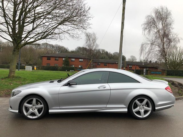 USED 2008 57 MERCEDES-BENZ CL 5.5 CL 500 2d 383 BHP