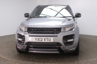 USED 2012 12 LAND ROVER RANGE ROVER EVOQUE 2.2 SD4 DYNAMIC LUX 5DR AUTO 190 BHP SERVICE HISTORY + HEATED QUILTED LEATHER SEATS + PANORAMIC ROOF + SURROUND CAMERA SYSTEM + DUAL VIEW TOUCHSCREEN + HEATED STEERING WHEEL + PARK ASSIST + SATELLITE NAVIGATION + PARKING SENSOR + BLUETOOTH + CRUISE CONTROL + CLIMATE CONTROL + MULTI FUNCTION WHEEL + TV RECIVER + ELECTRIC/MEMORY SEATS + XENON HEADLIGHTS + PRIVACY GLASS + DAB RADIO + ELECTRIC WINDOWS + ELECTRIC/HEATED DOOR MIRRORS + 22 INCH ALLOY WHEELS