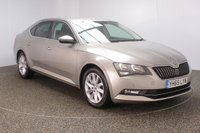 USED 2015 65 SKODA SUPERB 1.6 SE BUSINESS TDI 5DR 1 OWNER 118 BHP FULL SEVICE HISTORY + £20 12 MONTHS ROAD TAX + ALCANTARA/LEATHER SEATS + PARKING SENSOR + BLUETOOTH + CRUISE CONTROL + CLIMATE CONTROL + MULTI FUNCTION WHEEL + PRIVACY GLASS + DAB RADIO + ELECTRIC SEATS + RADIO/CD/AUX/USB + ELECTRIC WINDOWS + ELECTRIC/HEATED DOOR MIRRORS + 17 INCH ALLOY WHEELS