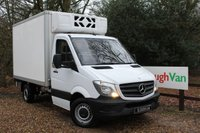 2015 MERCEDES-BENZ SPRINTER 2.1 313 CDI MWB FREEZER BOX VAN WITH STAND BY PLUG £11995.00