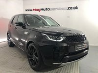 """USED 2018 LAND ROVER DISCOVERY 3.0 TD6 HSE 5d 255 BHP * BLACK PACK, PAN ROOF, CONTRAST ROOF, 22"""" ALLOYS *"""