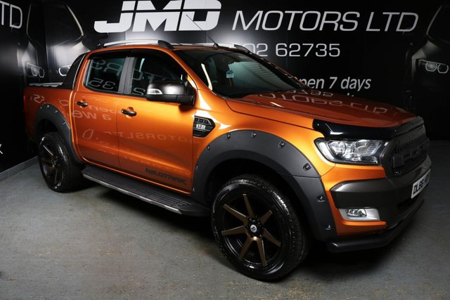 USED 2016 66 FORD RANGER LATE 2016 FORD RANGER 3.2 WILDTRAK 4X4 DCB TDCI 197 BHP (FINANCE & WARRANTY)