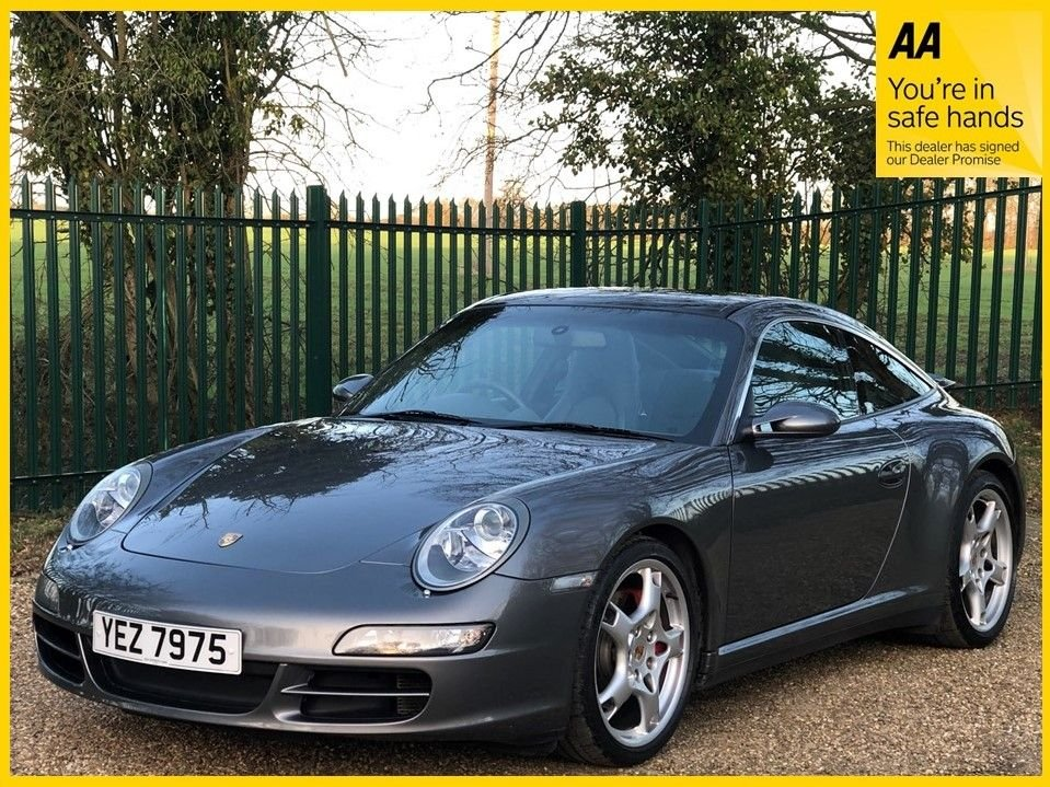 USED 2007 PORSCHE 911 3.8 TARGA 4S 2d 350 BHP **12 MONTHS MOT, HEATED SEATS**