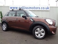 2014 MINI COUNTRYMAN 1.6 COOPER 5d 122 BHP £8495.00