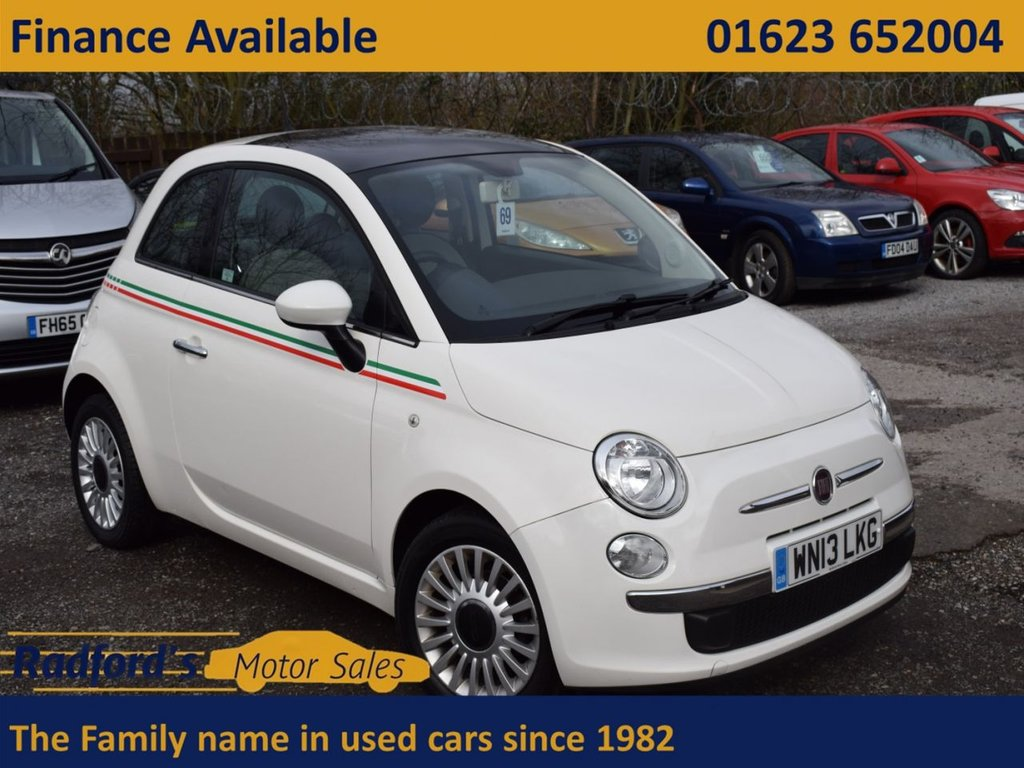 USED 2013 13 FIAT 500 1.2 LOUNGE 3d 69 BHP