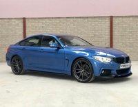 2016 BMW 4 SERIES 2.0 420D M SPORT GRAN COUPE 4d 188 BHP £16495.00