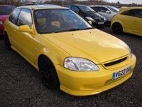1999 HONDA CIVIC 1.6 VTI-S JORDAN 3d 158 BHP £5000.00
