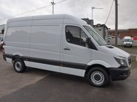 USED 2015 15 MERCEDES-BENZ SPRINTER 2.1 313 CDI MWB HI ROOF 129 BHP [EURO 5]