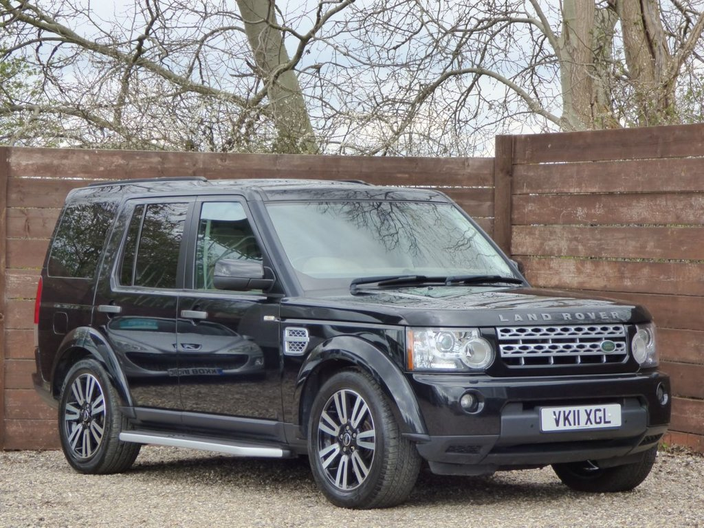 USED 2011 11 LAND ROVER DISCOVERY 3.0 4 SDV6 HSE 5d 245 BHP