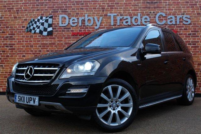 MERCEDES-BENZ M CLASS at Derby Trade Cars