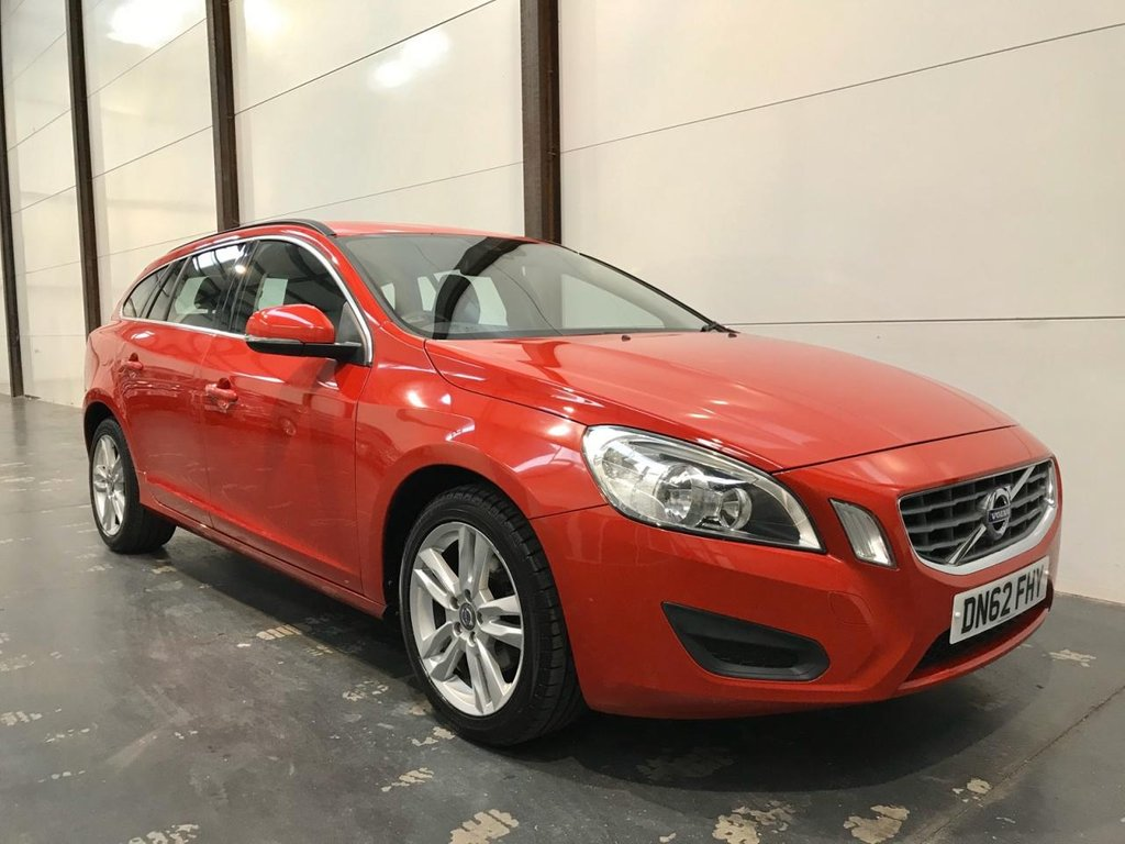 USED 2012 62 VOLVO V60 1.6 T3 SE 5d Sports Wagon 148 BHP T3 Petrol - Low Mileage